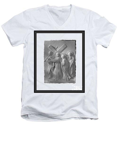 Station I V Men's V-Neck T-Shirt
