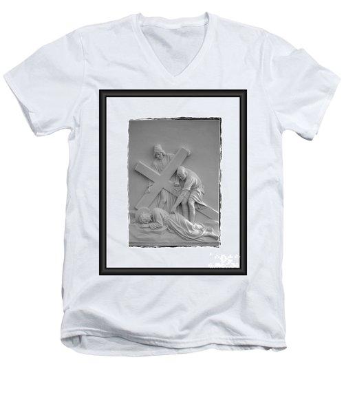 Station I X Men's V-Neck T-Shirt