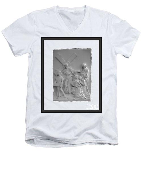 Station V I I I  Men's V-Neck T-Shirt
