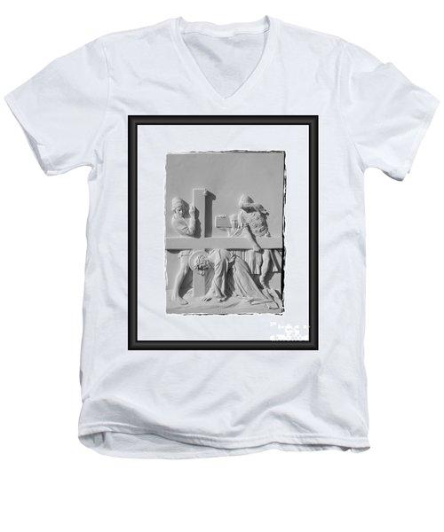 Station V I I Men's V-Neck T-Shirt