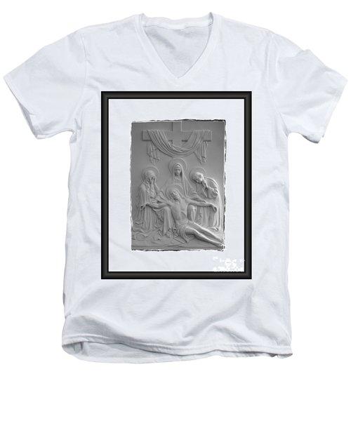 Station X I I I Men's V-Neck T-Shirt