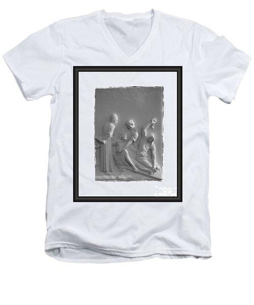 Station X I Men's V-Neck T-Shirt