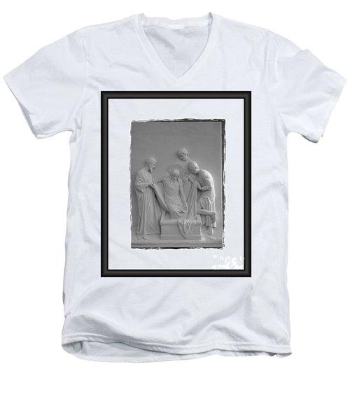 Station X I V Men's V-Neck T-Shirt