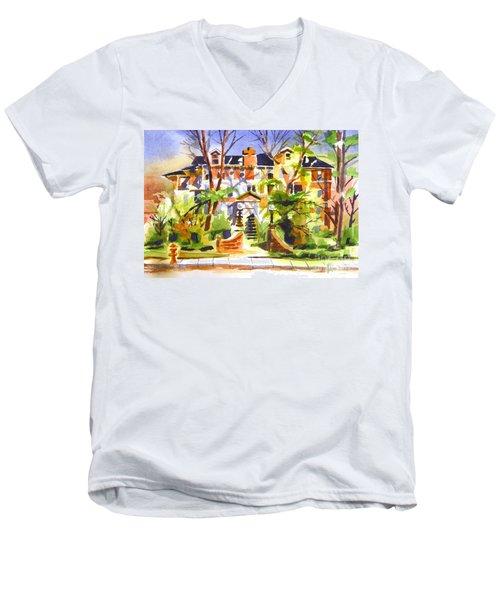Ste Marys Of The Ozarks Hospital Men's V-Neck T-Shirt by Kip DeVore