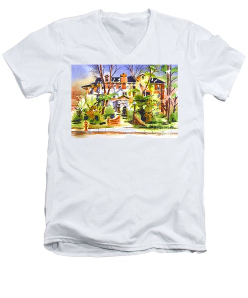 Ste Marys Of The Ozarks Hospital Men's V-Neck T-Shirt