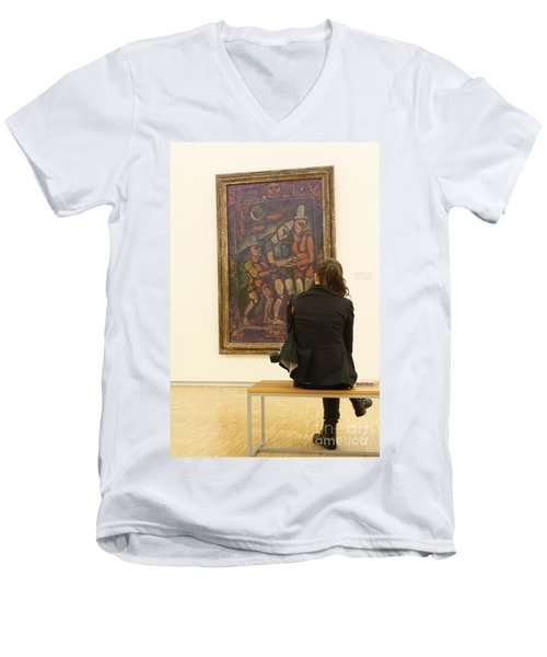 Stendhal Syndrome Men's V-Neck T-Shirt