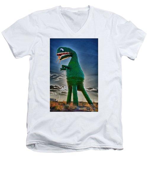 Stewarts Fossils Men's V-Neck T-Shirt by Gary Warnimont