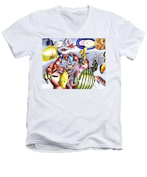 Still Drunk Men's V-Neck T-Shirt