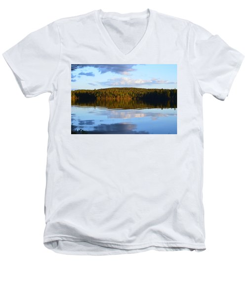 Stormclouds Scatter Men's V-Neck T-Shirt