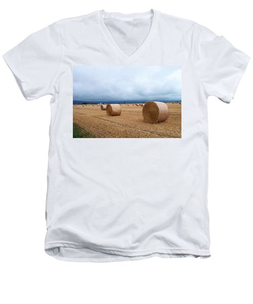 Straw For The Garden Maybe Men's V-Neck T-Shirt