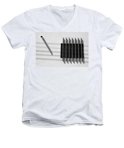 String Shadows - Selected Award - Fiap Men's V-Neck T-Shirt