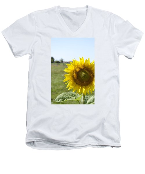 Men's V-Neck T-Shirt featuring the photograph Summer Lovin by Traci Cottingham