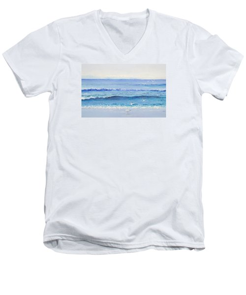 Summer Seascape Men's V-Neck T-Shirt