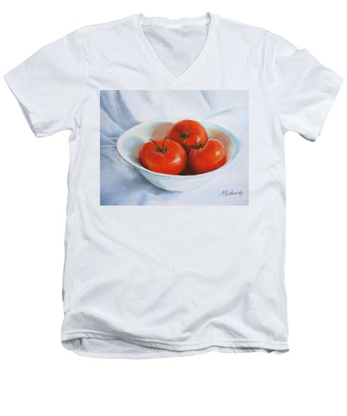 Summer Tomatoes Men's V-Neck T-Shirt