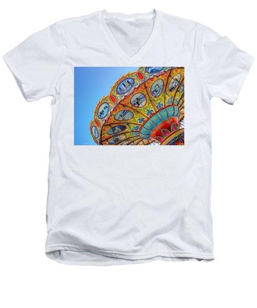 Summertime Classic Men's V-Neck T-Shirt