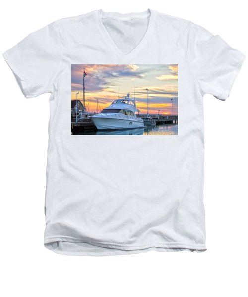 Sun Peaking II Men's V-Neck T-Shirt
