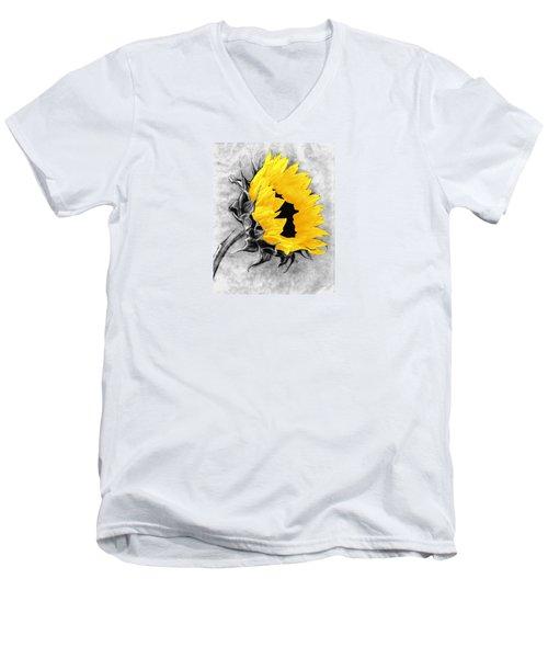 Sun Power Men's V-Neck T-Shirt by I'ina Van Lawick