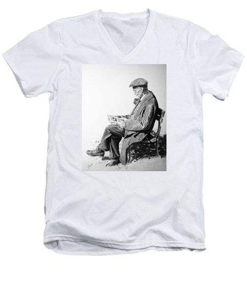 Sunday Edition Men's V-Neck T-Shirt