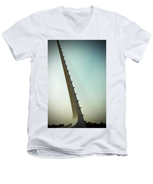 Sundial At Sunrise Men's V-Neck T-Shirt