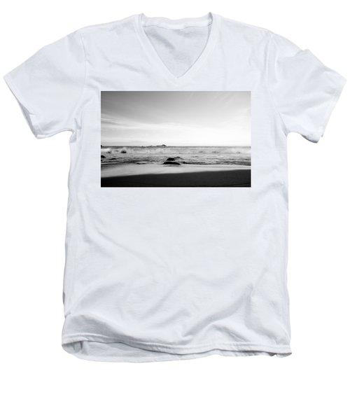 Sunlight On Beach Men's V-Neck T-Shirt