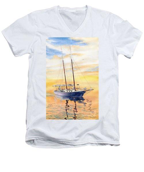 Sunset Cruise Men's V-Neck T-Shirt
