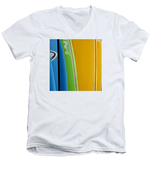 Surf Boards Men's V-Neck T-Shirt