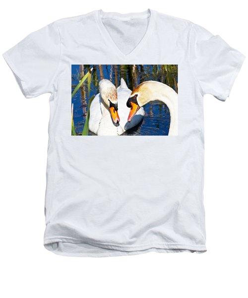 Swans Men's V-Neck T-Shirt