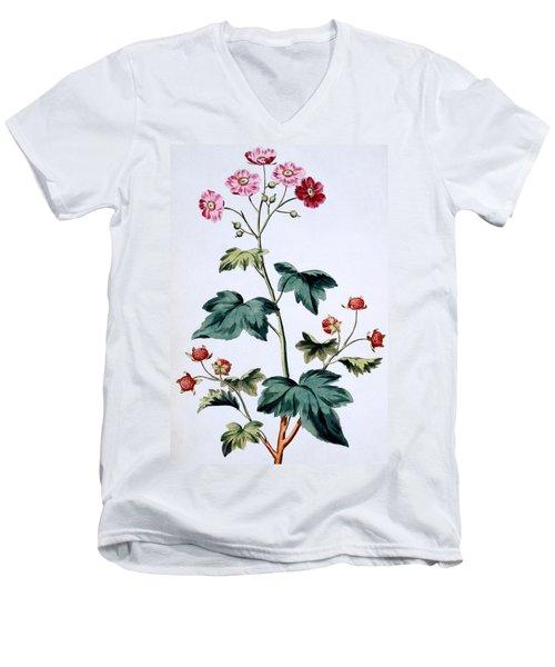 Sweet Canada Raspberry Men's V-Neck T-Shirt