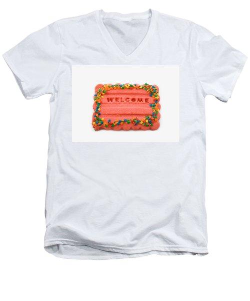 Sweet Welcome Mat Men's V-Neck T-Shirt