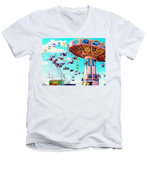 Swingers Have More Fun Men's V-Neck T-Shirt