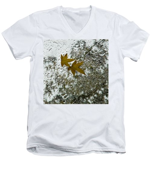 Symbols Of Autumn  Men's V-Neck T-Shirt