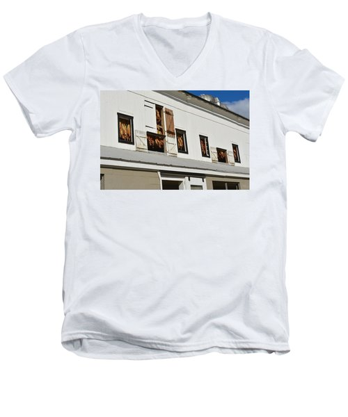 Syncopated Tobacco Barn Men's V-Neck T-Shirt