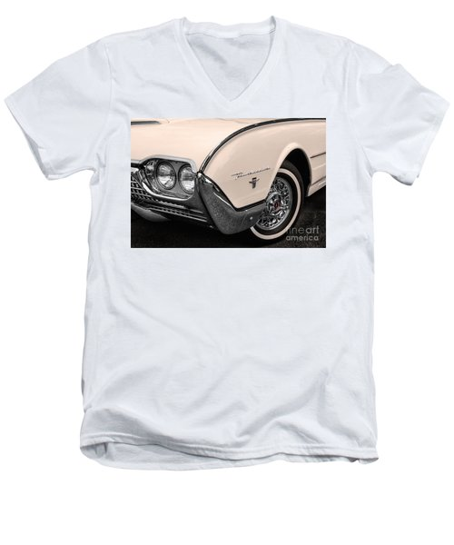 T-bird Fender Men's V-Neck T-Shirt