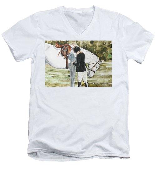 Tacking Up Men's V-Neck T-Shirt
