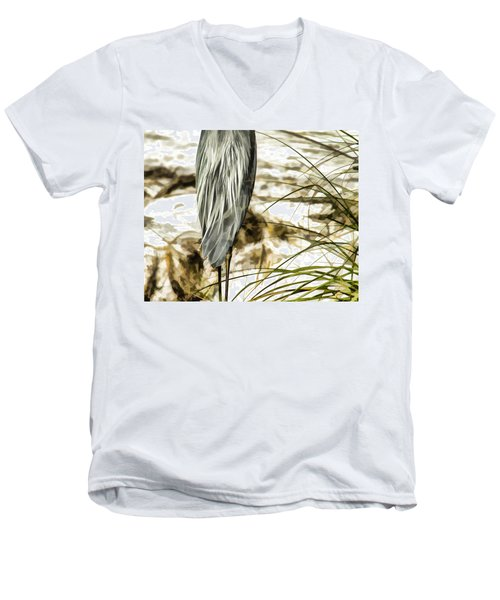 Tail Feathers Men's V-Neck T-Shirt