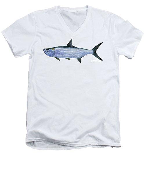 Tarpon Men's V-Neck T-Shirt