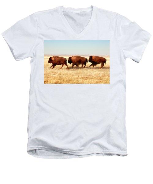 Tatanka Men's V-Neck T-Shirt