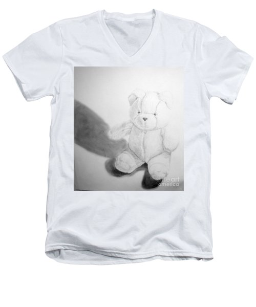 Teddy Men's V-Neck T-Shirt