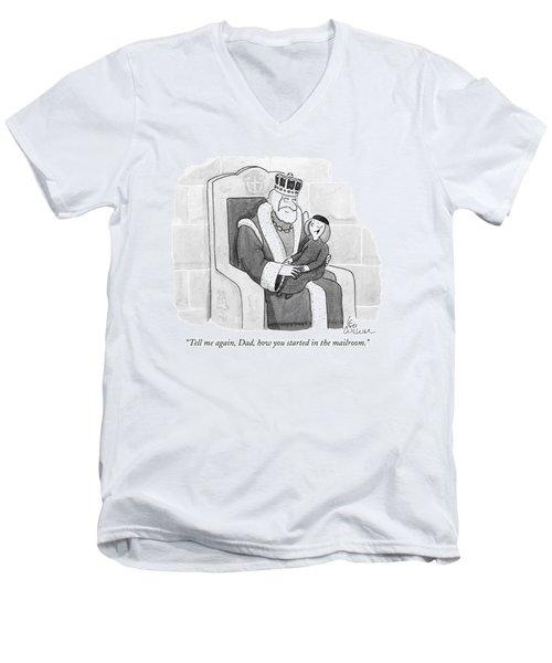 Tell Men's V-Neck T-Shirt