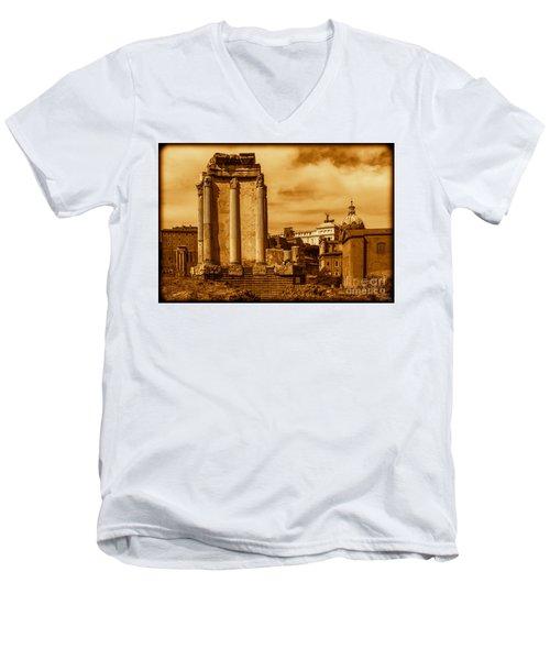 Temple Of Vesta Men's V-Neck T-Shirt