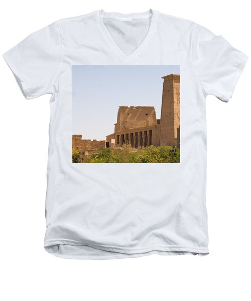 Temple View Men's V-Neck T-Shirt
