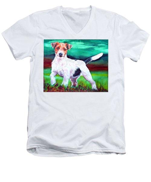 Thaddy Boy Men's V-Neck T-Shirt