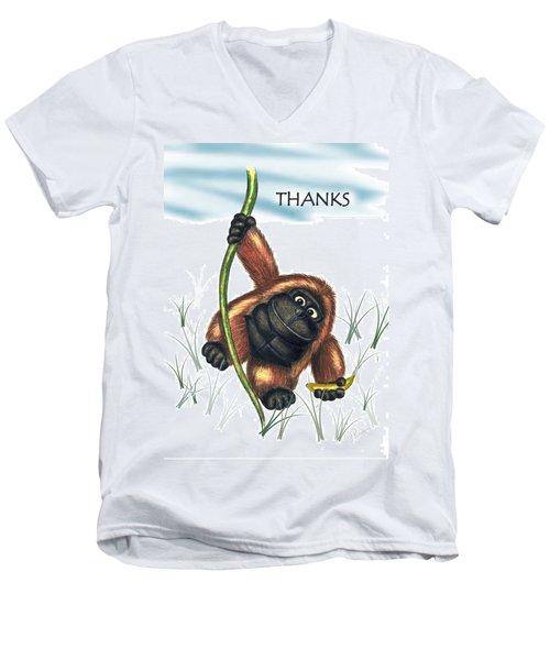 Thanks Men's V-Neck T-Shirt