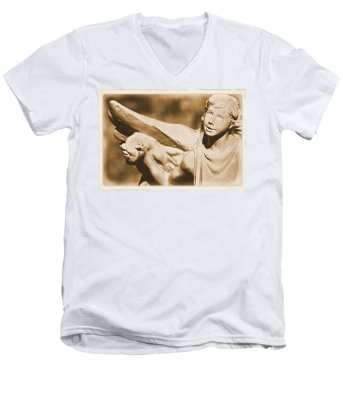 The Angel Of Joy Men's V-Neck T-Shirt