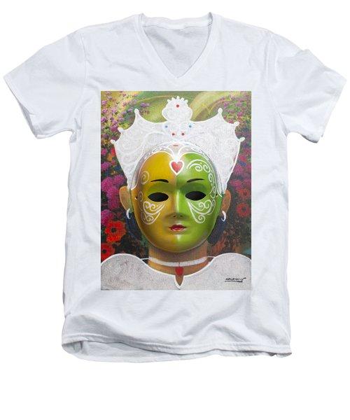 The Autumn Fairy Men's V-Neck T-Shirt