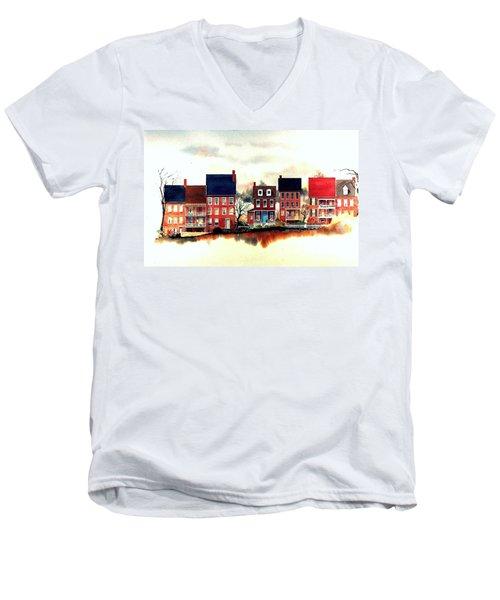 The Back Of The Strand Men's V-Neck T-Shirt
