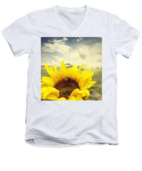 The Bee Men's V-Neck T-Shirt