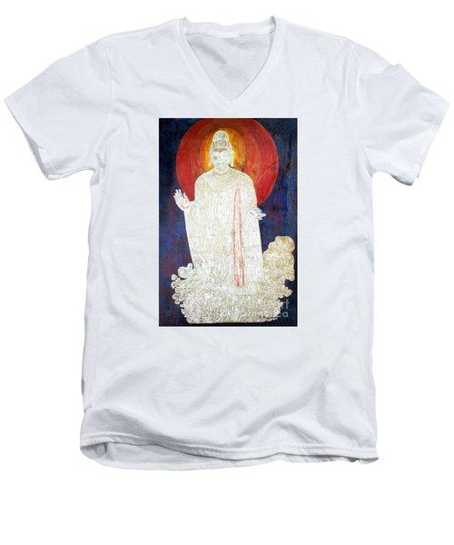 The Buddha's Light Men's V-Neck T-Shirt