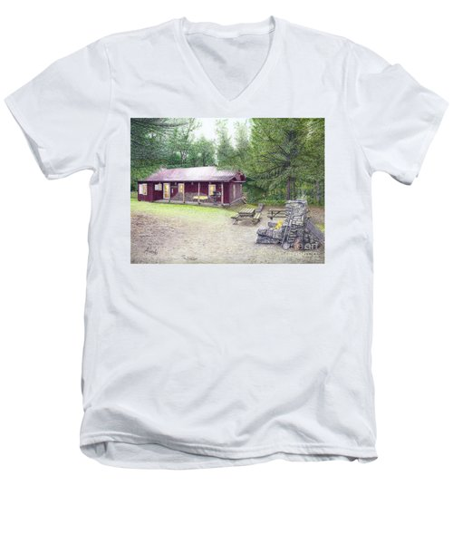The Cabin In The Woods Men's V-Neck T-Shirt