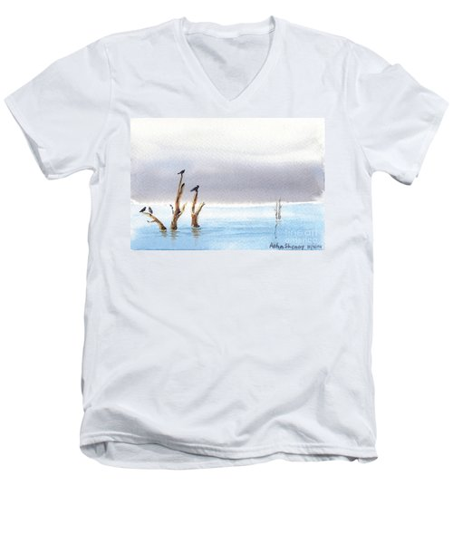The Calm Men's V-Neck T-Shirt